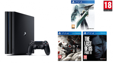 location console : PS4 pro : Hall of Fame - Best of Gaming