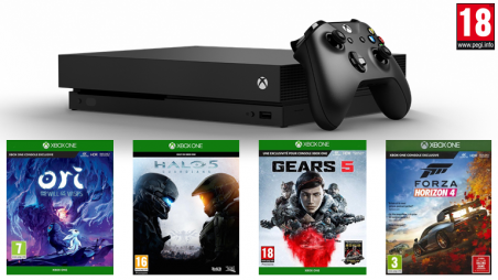 location console : Xbox one X : Hall of Fame - Best of Gaming